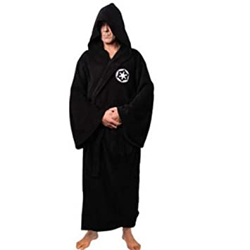 Clothing, Shoes & Accessories Star Wars Jedi Knight Bath Robe For Man Black Men