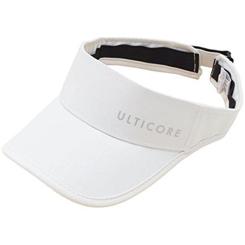 金属参照警官ULTICORE(ULTICORE) UT バイザー JBM1CPWH (ホワイト/F/Men's)