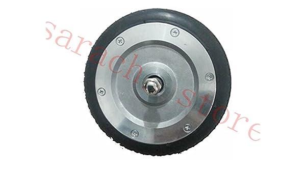 6 pulgadas eléctrico Roller rueda delantera Motor eléctrico Roller ...