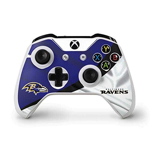 Price comparison product image NFL Baltimore Ravens Xbox One S Controller Skin - Baltimore Ravens Vinyl Decal Skin For Your Xbox One S Controller