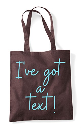 A Tote Shopper Quote Brown Hashtag Got Text I've Bag Statement pWP8O5paq