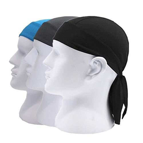 Do Wrap Headwrap - Doo Rag Skull Cap Cycling Headwrap Running Head Wrap Motorcycle Biker Cap Hat Helmet Liner