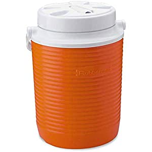 Rubbermaid Victory Jug Water Cooler, Orange, 1-gallon (FG15600611)