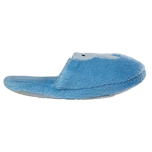 Maybest Mujeres Cosy Fleece Plush Antideslizante Interior Deslizador Azul