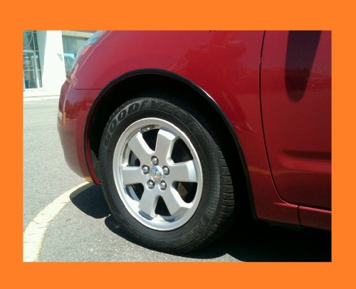 2005-2011 MERCURY MARINER BLACK WHEEL WELL MOLDINGS FENDER TRIM KIT 4PC 2PM 2006 2007 2008 2009 2010 05 06 07 08 09 10 11