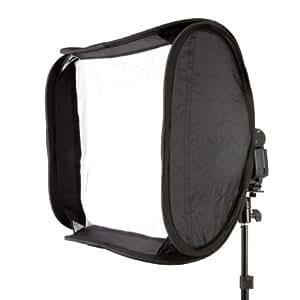 Delamax EFS-60 - Ventana de luz para iluminación fotográfica, negro
