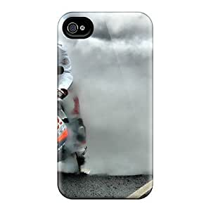 Awesome BqB1292wwue Harries Defender Tpu Hard Case Cover For Iphone 4/4s- Yamaha R1