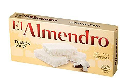 El Almendro Turron Coco (Coconut Turron) Net.Wt 200gr
