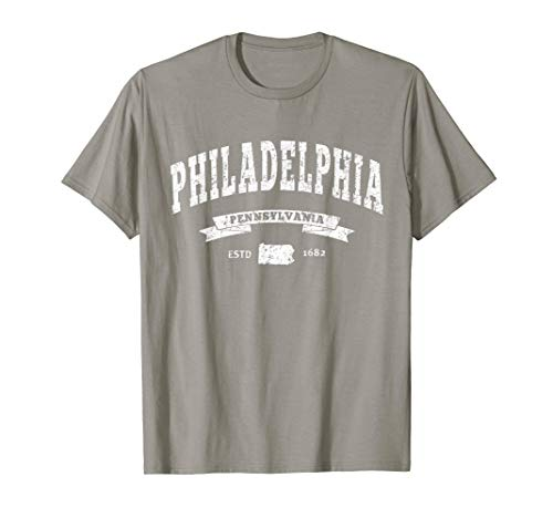 Philadelphia Philly T-Shirt City of Brotherly Love PA