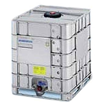 Cisterne Con Gabbia Metallica.Cisterna Ibc Usata Rigenerata In Plastica 1000 Litri Con