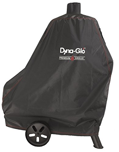 Dyna-Glo DG1382CSC Vertical Offset Charcoal Smoker Grill Cover, Black