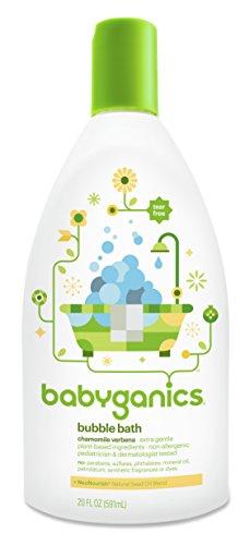 Babyganics Baby Bubble Bath, Chamomile Verbena, 20 Ounce