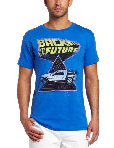 American Classics Men's Back To The Future Speed Demon T-Shirt, Royal, Large (Speed Tshirt Demon)