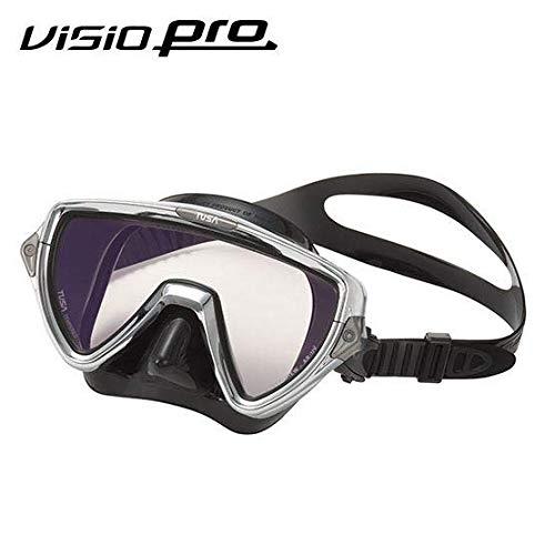 TUSA M-110 Visio Uno Pro Scuba Diving Mask, Chrome by TUSA
