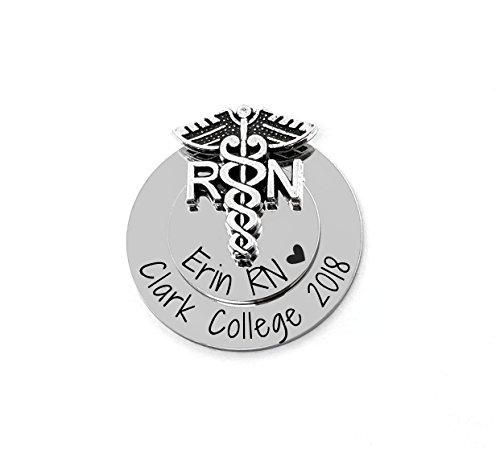 Nurse Gift - RN Nursing Pin - Graduation - Pinning Ceremony - CNA LPN LVN NP MA