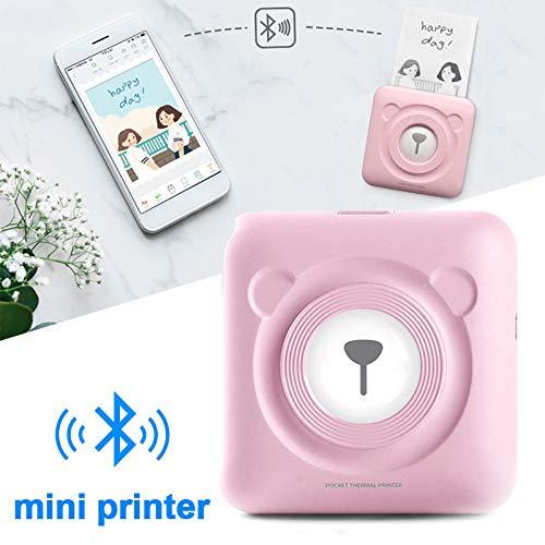 Hanbaili Impresora Móvil Conveniente Impresora Bluetooth with 5V ...