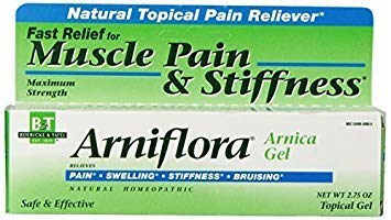 Boericke & Tafel Arniflora Arnica Natural Topical Pain Reliever Gel, Maximum Strength (Pack of 3)