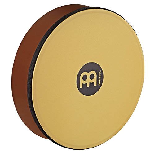 Meinl Percussion HD10AB-TF 10-Inch Rubber Wood Hand Drum With Synthetic Head, African Brown by Meinl Percussion