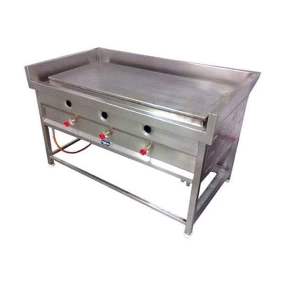 CKE Kitchen Equipment Stainless Steel Dosa Plate, Commercial Gas Burner 1