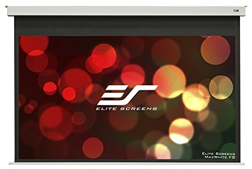 Elite Screens Evanesce B, 100-inch 16:9, Recessed Ceiling In-Ceiling Electric Projection Projector Screen, EB100HW2-E12