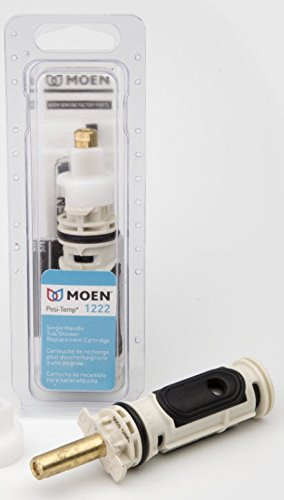 moen-1222-one-handle-positemp-faucet-cartridge-replacement-for-moen-tub-shower-and-shower-only-configurations-brass-and-plastic