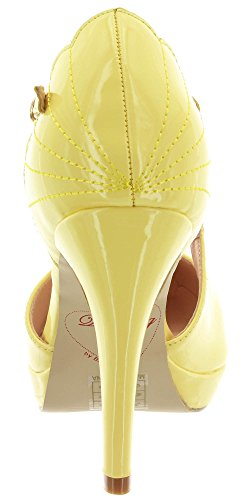 Dancing Days Pour Femme Escarpins Yellow q8qz7xw