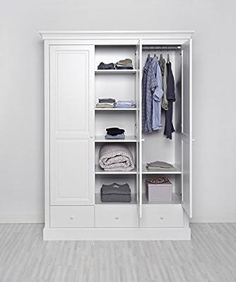 Kinderzimmer Kleiderschrank weiß - ASGER Kinder ...