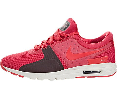 new concept a4359 69a76 Galleon - Nike Womens Air Max Zero Running Trainers 857661 Sneakers Shoes ( US 7, Ember Glow Sail 800)