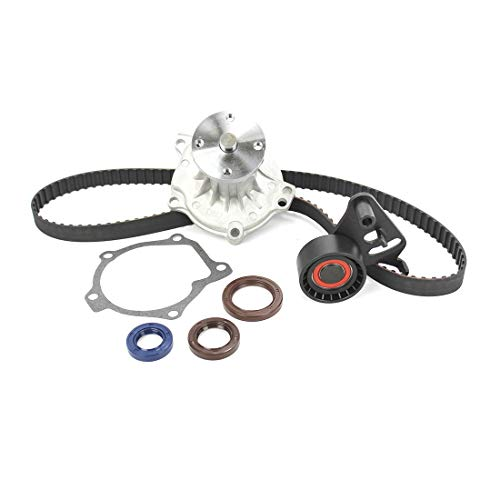 DNJ TBK300WP Timing Belt Kit with Water Pump for 1986-1995 / Isuzu/Amigo, Impulse, Pickup, Trooper / 2.3L / SOHC / L4 / 8V / 2254cc