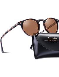 Polarized Sunglasses for Women Men丨Vintage Round...