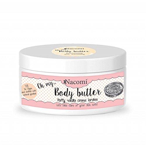 Nacomi Body Butter Fluffy Vanilla Creme Brulee 100ml