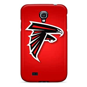 Shock-Absorbing Hard Cell-phone Case For Galaxy S4 With Support Your Personal Customized Nice Atlanta Falcons Skin DustinFrench