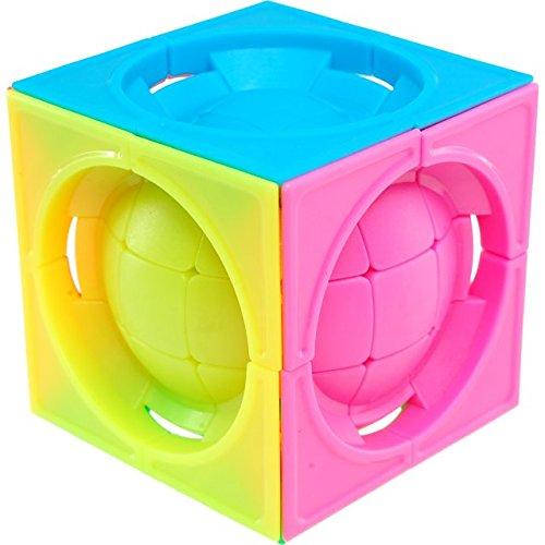 福袋 変形LimCube 3 x 3 3 x Stickerless 3キューブcentro-sphere – 3 Stickerless B075THZDFW, キラキラピアス:da43ae37 --- clubavenue.eu