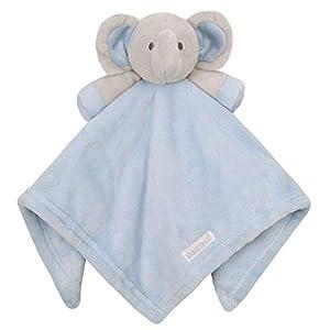 Babytown Baby Boys & Girls Animal Snuggle Comforter Blanket Blue Elephant