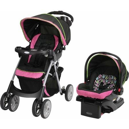 Graco Comfy Cruiser Click Connect Travel System, Maci by Graco