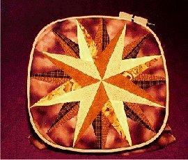 14'' German Wooden Square Quilt Hoop by German Quilt Hoop