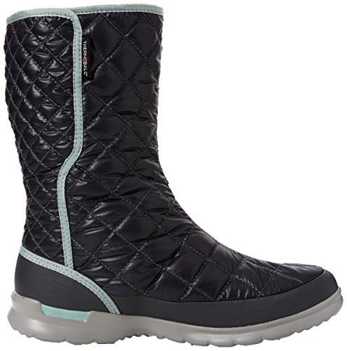 5qc Thermoball Blackened Para Insulated Button Haze shiny blue Pearl Botas The North up Mujer De Face Negro Nieve zcnOxTWC