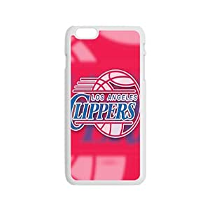 Los Angeles Clippers NBA White Phone Case for iPhone 6 Case