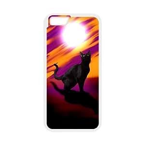 Black Cat DIY Cell Phone Case for iPhone6 Plus 5.5 BY icecream design