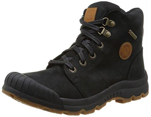 Aigle Men's Tenere Leather & GTX High Rise Hiking Shoes, Black, 10.5 UK - Mens High Rise Shoe