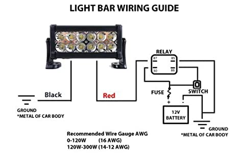 15 Watt Spreader Light Wiring Harness Relay on led light bar rocker switch wiring diagram