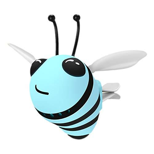 Ruluti Auto Parfum Accessoires Bee Cartoon Luchtverfrisser Parfum Automobiel Vent Geur Parfum Clip Auto Decoratie…