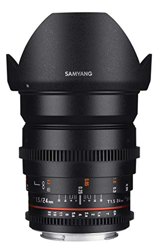 Lente gran angular Samyang Cine SYCV24M-S 24 mm T1.5 Cine para Sony Alpha A