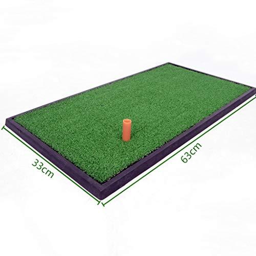 DQMSB Golf Mat Indoor Swing Practice Mat 0.33 X 0.63m Exercise mats