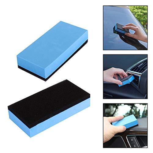 1 esponja de espuma aplicadora almohadillas para limpiar el coche ...
