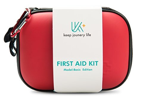 KJL Portable First Aid Kit Ultralight Medical Emergency Survival Bag Mini Carry on the Go for Survival Emergency,Hiking,Travelling,Sporting,School Outdoor Activities and Home