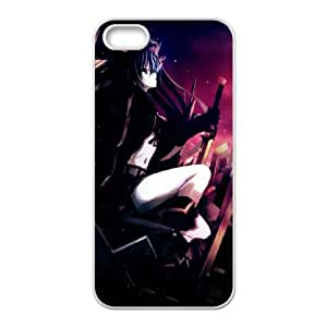 black rock shooter cemetery iPhone 4 4s Cell Phone Case White yyfD-312777