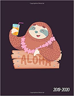 Aloha 2019-2020: Pretty Hippie Sloth Daily, Weekly and ...