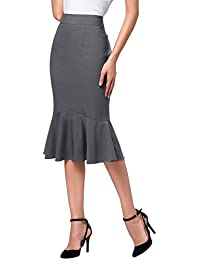 Womens Wear to Work Stretchy Pencil Skirts
