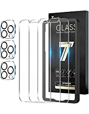 TAURI 3 Pack Screen protector en 3 Pack camera lens Protector voor 2161 P met Uitlijning Frame Gemakkelijk Installeren Case Vriendelijke Meerdere Defense Technologie Gehard Glas